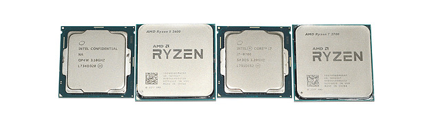 Rayzen and intel photo
